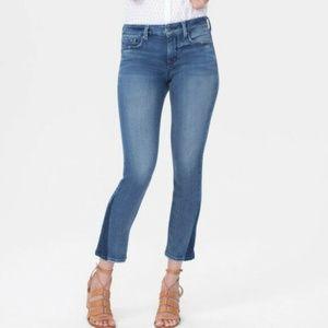 NYDJ Sheri Slim Shadow Ankle Jeans EUC